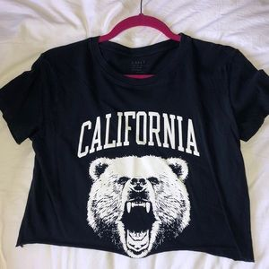 Brandy Melville cropped t shirt